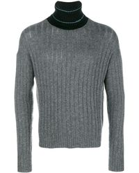 Prada - リブニット セーター - Lyst
