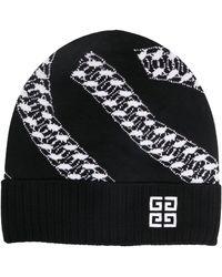 Givenchy ケーブルニット ビーニー - ブラック