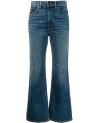 Polo Ralph Lauren クロップド フレアジーンズ - ブルー