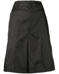 Prada - Loose Fit Shorts - Lyst