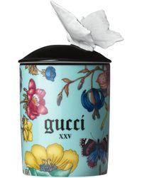 Gucci Flora Inventum Scented Candle - Blue