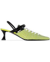 Ancuta Sarca Zapatos de tacón con puntera en punta - Verde