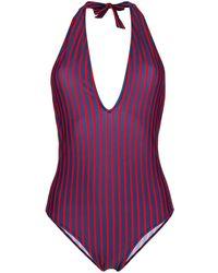 LaDoubleJ Riviera Swimsuit - Синий
