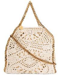 Stella McCartney Gehäkelte 'Falabella' Handtasche - Mehrfarbig