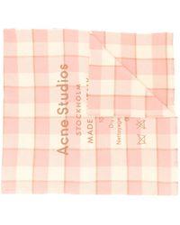Acne Studios - Cassiar チェック スカーフ - Lyst