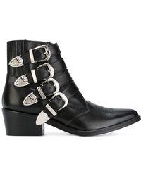 Toga Pulla - Multi Straps Boots - Lyst