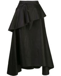 3.1 Phillip Lim ラッフル スカート - ブラック