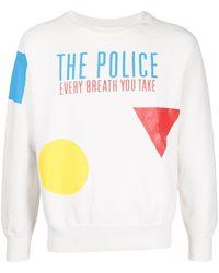 MadeWorn The Police スウェットシャツ - ホワイト