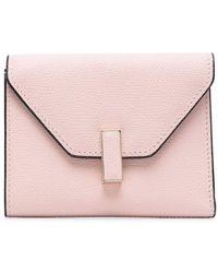 Valextra 二つ折り財布 - ピンク