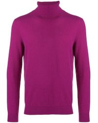 Laneus - Cashmere Roll-neck Sweater - Lyst