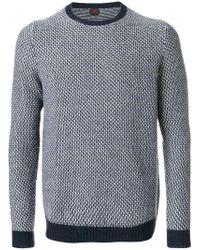 Mp Massimo Piombo - Contrast Hem Sweatshirt - Lyst