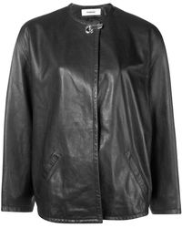 Chalayan Concealed Front Jacket - ブラック