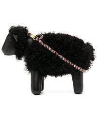 Thom Browne Sheep ショルダーバッグ S - ブラック