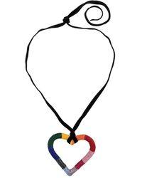 Carolina Herrera - Collar con diseño de corazón y cuentas - Lyst