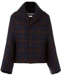 Junya Watanabe - Checked Boxy Jacket - Lyst