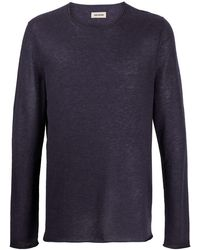 Zadig & Voltaire Teiss Cashmere Pullover - パープル