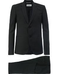 Saint Laurent ツーピーススーツ - ブラック