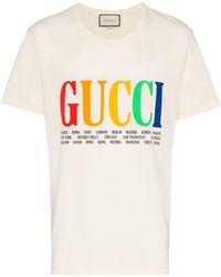 quality design e590b 0e03c T-shirt oversize con stampa Città - Multicolore