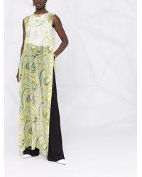 Raf Simons ベルベット ドレス - ブラック