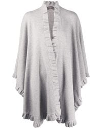N.Peal Cashmere - カシミア ケープ - Lyst