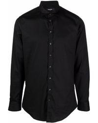 DSquared² Рубашка С Длинными Рукавами - Черный