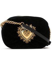 Dolce & Gabbana Сумка Через Плечо Sacred Heart - Черный