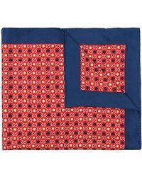 Gucci Printed Silk-satin Scarf - Red