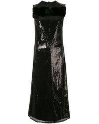 Yang Li スパンコール ドレス - ブラック