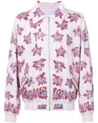 Faith Connexion - Embroidered Bomber Jacket - Lyst