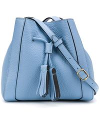 Mulberry Small Millie Bucket Bag - Blue