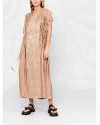 Uma Wang - フローラル ドレス - Lyst