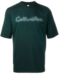 Cottweiler ロゴエンブロイダリー Tシャツ - グリーン