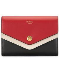 Mulberry フラップ財布 - マルチカラー