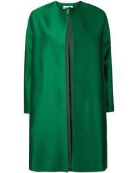 Dice Kayek Open Front Coat - Green