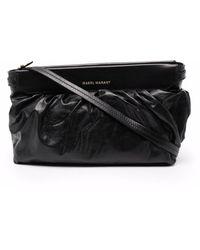 Étoile Isabel Marant Leather Clutch Bag - Black