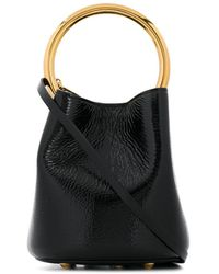 Marni Panier Bucket Bag - Black