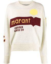 Étoile Isabel Marant Maglione Summer '20 - Multicolore