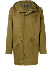 A.P.C. - Elongated Style Coat - Lyst