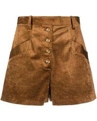 Pinko - Shorts aus Cord - Lyst