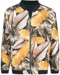 The Upside Printed Bomber Jacket - Multicolor