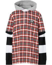 Burberry - Реконструированная Рубашка-регби - Lyst