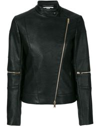 Stella McCartney Asymmetric Fitted Jacket - Zwart