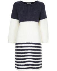 Han Ahn Soon - Striped Knitted Dress - Lyst