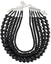 Ermanno Scervino - Multi-strand Beaded Necklace - Lyst