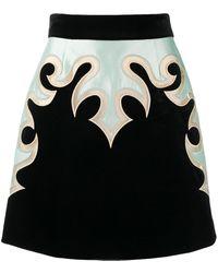 Zimmermann パネル ミニスカート - ブラック