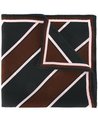 AMI - Striped Pocket Square Scarf - Lyst