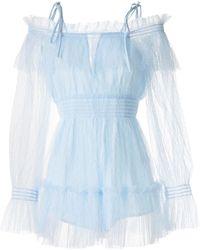 Alice McCALL Combishort Crystal Skies - Bleu