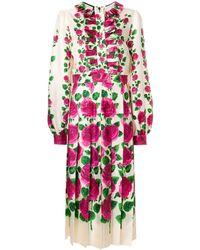 Gucci Rose Garden ワンピース - マルチカラー