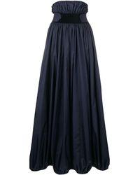 Nina Ricci ベルテッド ドレス - ブルー