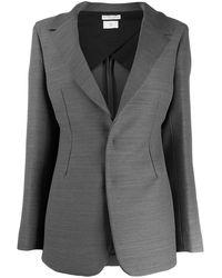 Bottega Veneta シングルジャケット - グレー